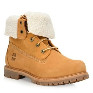 Timberland Teddy Fleece Roll Down Boot
